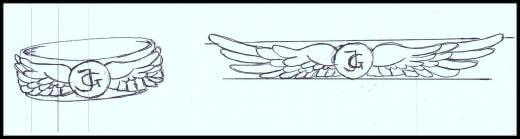 Jõhvi Gümnaasiumi sõrmuse kavand