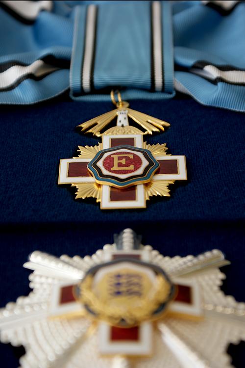 Eesti Punase Risti teenetemärgi I klass (valmistatud aastal 2015)