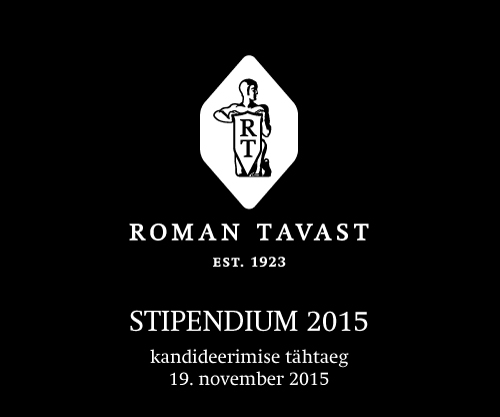 Roman Tavasti stipendium 2015