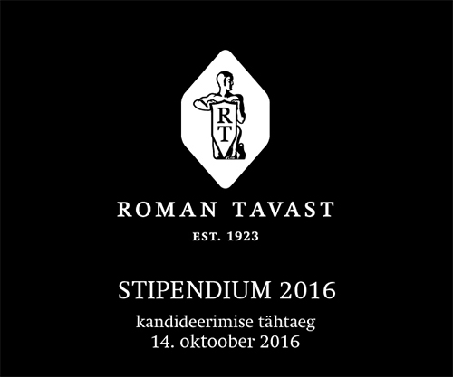 Roman Tavasti stipendium 2016