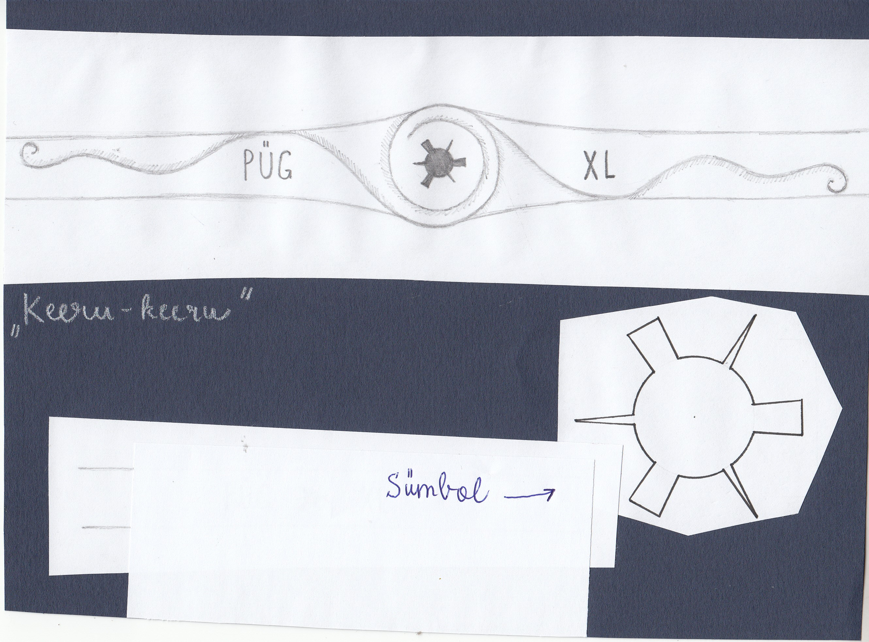 Paide Ühisgümnaasiumi lõpusõrmuse kavand