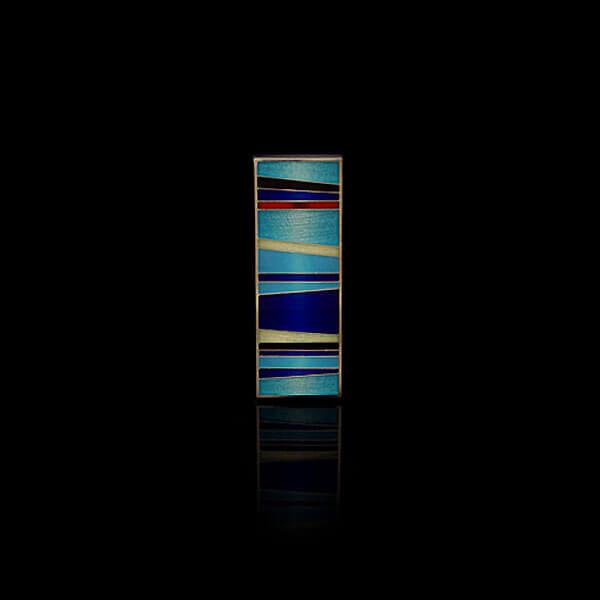 Kaelaehe Aurora Borealis sinine