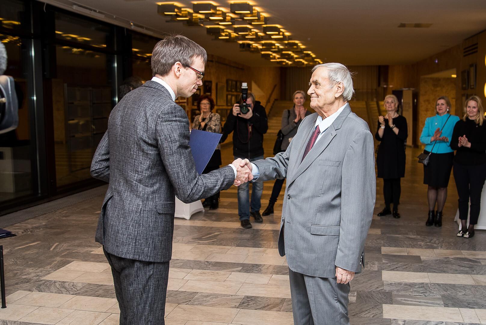 Välisministeeriumi kultuuripreemia 2017