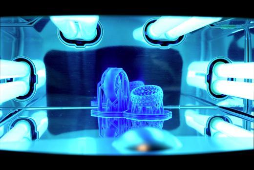 модели на 3D-принтере