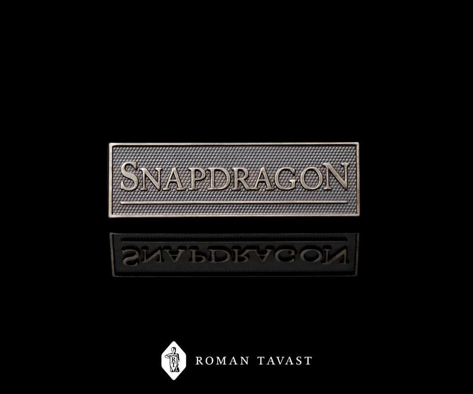 Rinnamärgid Londoni ürituskorraldusfirmale Snapdragon